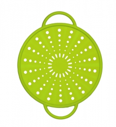 Emsa SMART KITCHEN Silikon Spritzschutz 21 cm, grün