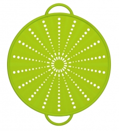 Emsa SMART KITCHEN Silikon Spritzschutz 31 cm, grün