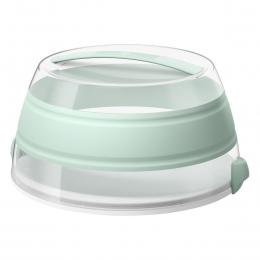 EMSA myBAKERY Falt-Partybutler Tortenbehälter Tortenbox, Mint, 30 cm