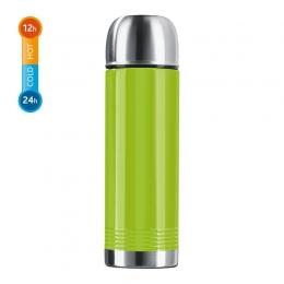 EMSA SENATOR Isolierflasche Thermosflasche Reiseflasche Trinkflasche Limone, 0,7 L