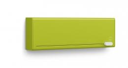 EMSA SMART Folienschneider für Alufolie&Frischhaltefolie Küchenrollenhalter grün