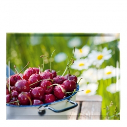 EMSA CLASSIC Tablett Serviertablett, Cherries, 50 x 37 cm