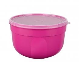 EMSA SUPERLINE Colours pink  Frischhalteschale Frischhaltedose Vorratsdose rund 0,6L