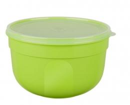 EMSA SUPERLINE Colours grün  Frischhalteschale Frischhaltedose Vorratsdose rund 0,6L