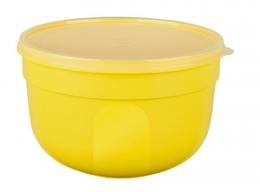 EMSA SUPERLINE Colours gelb Frischhalteschale Frischhaltedose Vorratsdose rund  1,25L