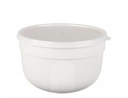 EMSA SUPERLINE Colours weiß Frischhalteschale Frischhaltedose Vorratsdose rund 1,25L