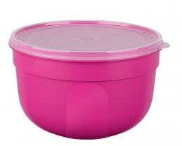 EMSA SUPERLINE Colours pink Frischhalteschale Frischhaltedose Vorratsdose rund 2,25L