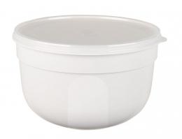 EMSA SUPERLINE Colours weiß Frischhalteschale Frischhaltedose Vorratsdose rund 2,25L