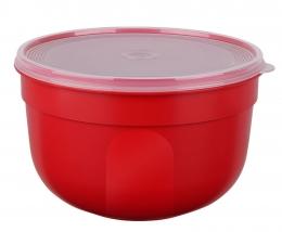 EMSA SUPERLINE Colours rot  Frischhalteschale Frischhaltedose Vorratsdose rund 4,0L