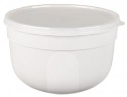 EMSA SUPERLINE Colours weiß Frischhalteschale Frischhaltedose Vorratsdose rund 4,0L