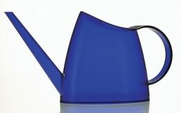 Emsa FUCHSIA Blumengießer Gießkanne Blumenkanne 1,5 L, transparent dunkelblau
