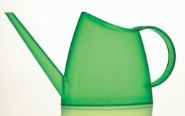 Emsa FUCHSIA Blumengießer Gießkanne Blumenkanne 1,5 L, transparent grün