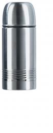 Emsa SENATOR Isolierkanne Thermosflasche Thermoskanne Safe Loc, Edelstahl, 0,35 L