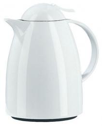Emsa AUBERGE Isolierkanne Thermoskanne Isokanne Kaffeekanne, Weiß, 0,35 L