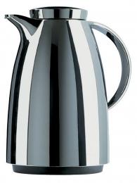Emsa AUBERGE Isolierkanne Thermoskanne Isokanne Kaffeekanne Chrom, 1,5 L
