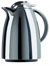 Emsa AUBERGE Isolierkanne Thermoskanne Isokanne Kaffeekanne, Chrom, 0,65 L