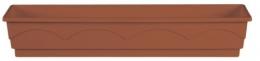 Emsa  LAGO 5 Stück Blumenkasten Balkonkasten  Pflanzkasten terra 100 cm