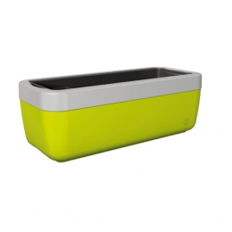 Emsa myBOX Blumenkasten 50 cm, grün/alu