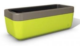 Emsa myBOX Blumenkasten 75 cm grün/braun
