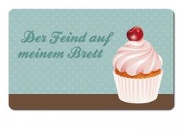 Emsa CLASSIC Brettchen, Servierbrett, Frühstücksbrett, Servier-Brett 23x14cm