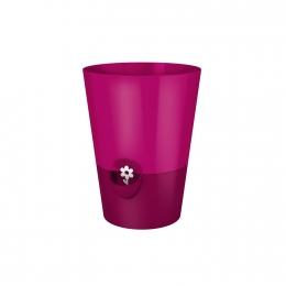 Emsa FRESH HERBS Kräutertopf Blumentopf Pflanztopf Ø 13 cm, pink