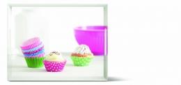 Emsa CLASSIC Tablett Serviertablett  50x37 cm Cup Cakes