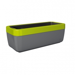 Emsa myBOX Blumenkasten 50 cm, anthrazit/grün
