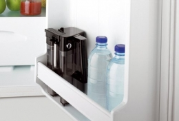 DeLonghi One Touch ESAM 3600 Kaffeevollautomat Elegance (Milchbehälter) silber