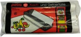 Petra-electric Koch- und Gefrierfolie 3 Rollen-40°C bis +110°C gefrier und kochfest Stärke 0,03mm