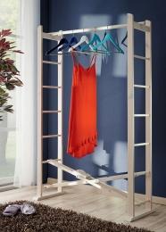 Buche Garderobe faltbar Massivholz Kleiderständer Kleiderstange klappbar