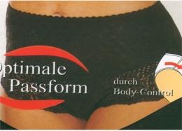 Damen Bauchweg Slip 48/50 schwarz 95 % gekämmte Baumwolle antibakteriell