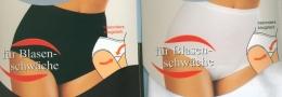 Damenslip Taillenslip mit Hygieneinlage 44/46 weiß