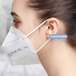 10 x FFP2 Atemschutz-Maske 5-lagig  Mundschutz CE zertifiziert Hochwertig KN95