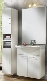 Waschplatz Adelano Waschtisch Waschbecken mit Spiegel Badmöbel Waschbeckenunterschrank
