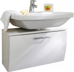 Waschbecken-Unterschrank Badschrank Salona weiss  Maße B x T x H ca. 82 x 40 x 9 cm