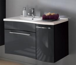 Waschplatz Laonda Mineralgussbecken Waschbeckenunterschrank Waschbecken