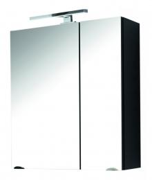 Spiegelschrank Badspiegel Badschrank multi-use walnuss  Maße B x T x H ca. 79,5 x 40,5 x 13,5 cm