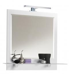 Spiegel multi-use weiss  Maße B x T x H ca. 76 x 65 x 9 cm