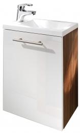 Handwaschplatz Alexo inkl. Mineralgussbecken Waschplatz Badezimmer