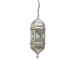 Pendelleuchte SALIMA für den besonderen Look, Design Orient, Metall verchromt gemütliche Atmosphäre