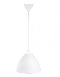 Hängeleuchte SILLY, Silicon weiß, individuell formbar, Ø 30 cm, E27 max. 60W