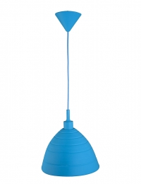 Smartwares Silikon-Hängeleuchte Silly, individuell formbar, blau