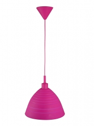 Smartwares Silikon-Hängeleuchte Silly, individuell formbar, rosa