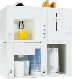 Princess Compact for All Set Toaster Kaffeeautomat Zitruspresse Wasserkocher
