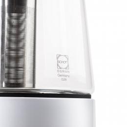 Petra Wasserkocher Teekocher mit Induktion sehr sparsam mit Warmhaltefunktion Teebereiter