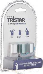 Tristar XX-2396529 Nagelpflege-Rollen, 6 g, 3 Aufsätze