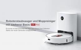 ROIDMI EVE Plus Saugroboter Vacuum Wischroboter mit3L Staubbeutel APP Control EU