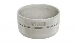 Staub 6 er Set hochwertiger Keramik Emailleschicht  Schüssel Weißer Trüffel 300 ml Servieren
