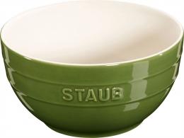Staub Keramik 6 er Set Schale Schüssel Desertschale, groß basilikumgrün 17 cm Ceramic