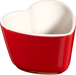 Staub Keramik 6er Set XS Mini Förmchen Ramekin Dessertschale Kirschrot 8 cm